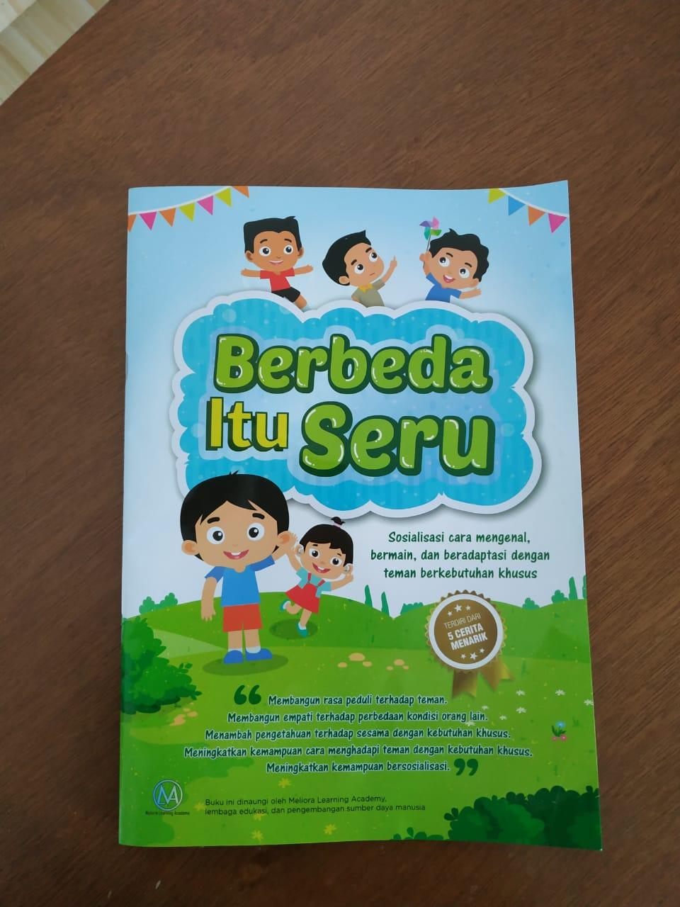 Review Buku: Berbeda Itu Seru