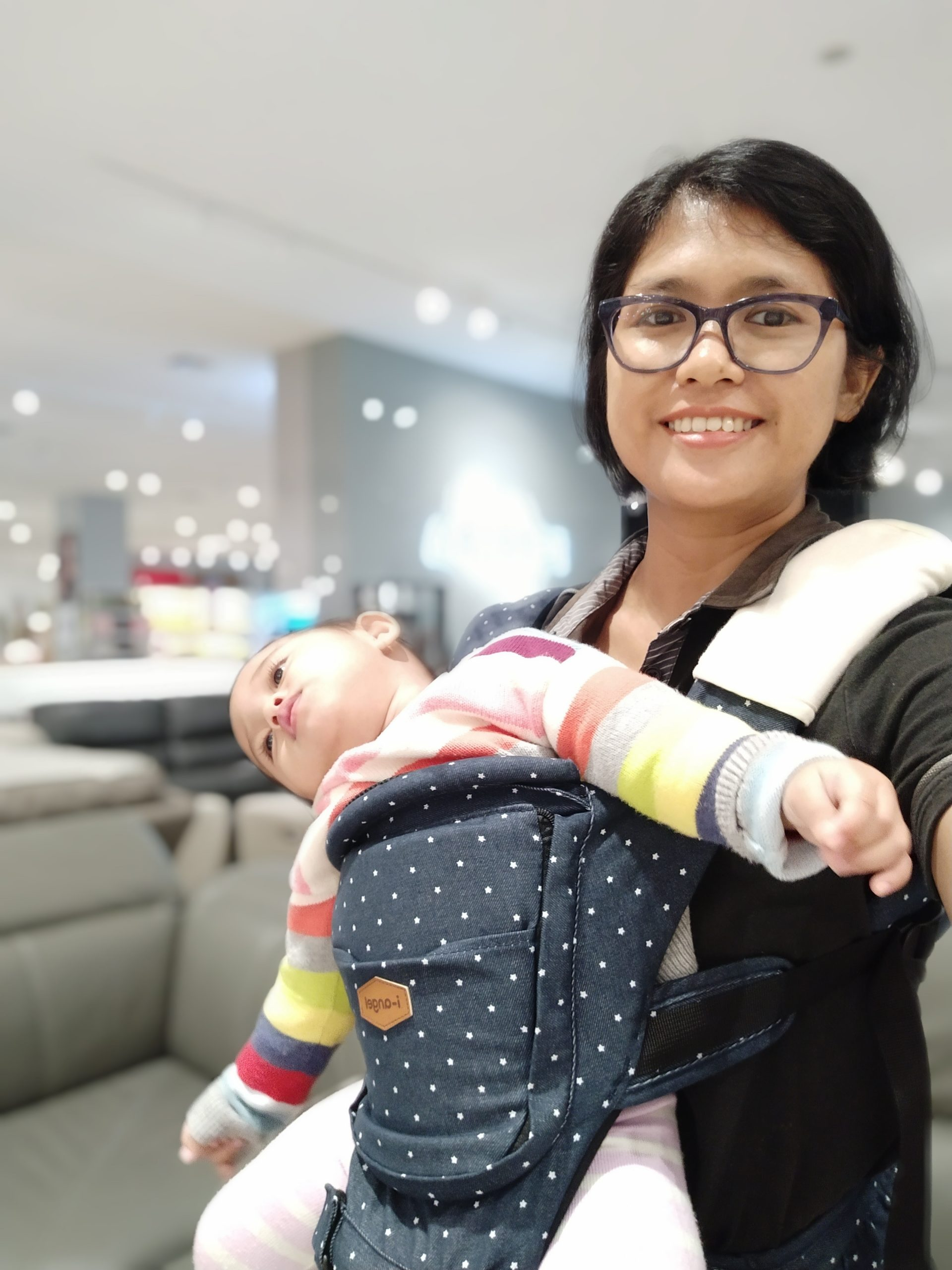 Review Hipseat i-Angel Carrier